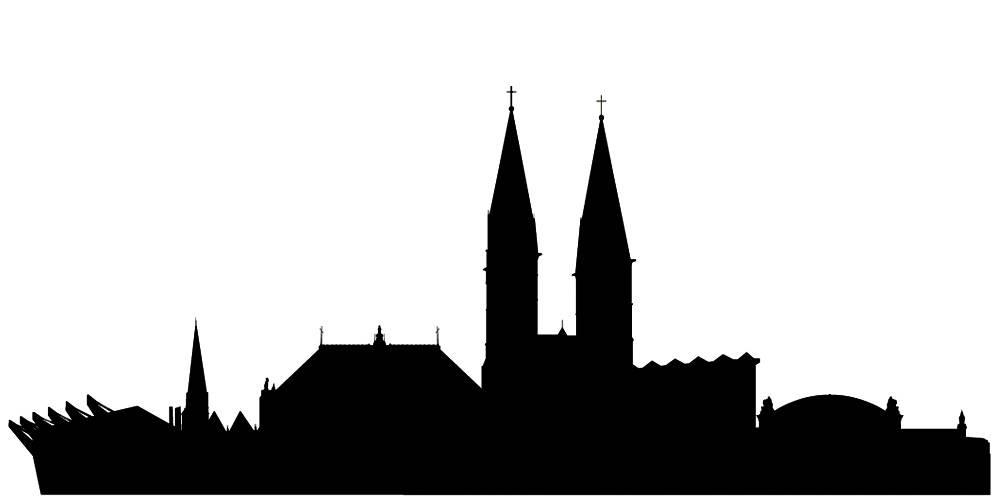 Германия силуэты Бремен