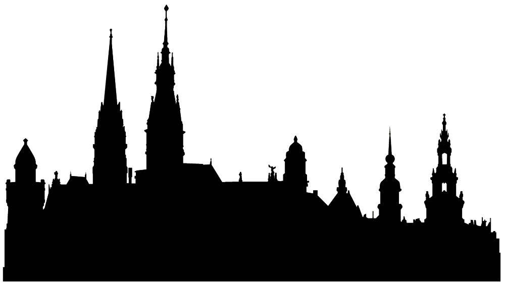 Германия силуэты Хамбург