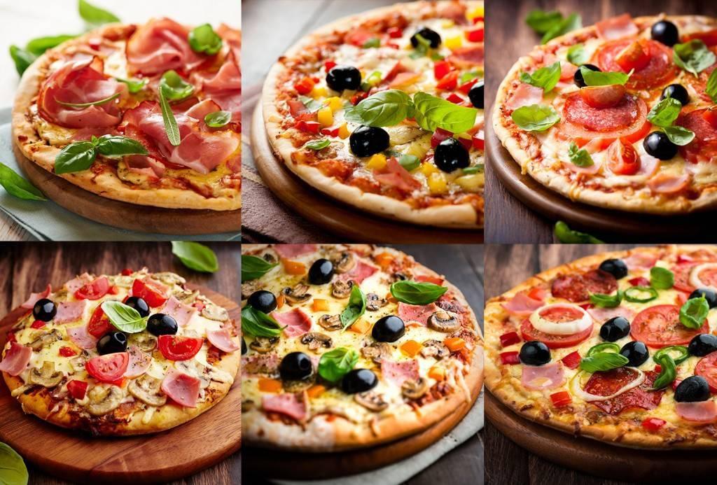 Растровый клипарт - Фото Пиццы, с маслинами
