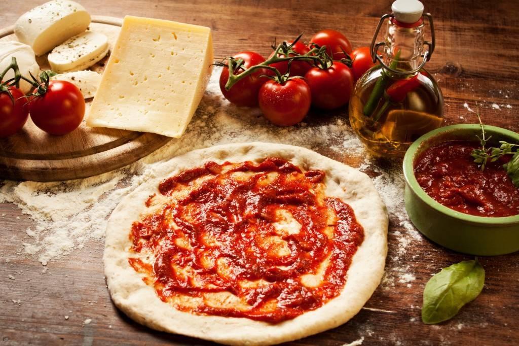 Pizza Margherita - Фото итальянской пиццы