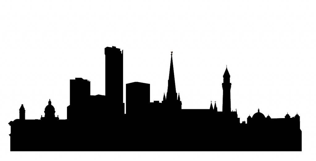 Силуэты городов Англии - Бирминга
