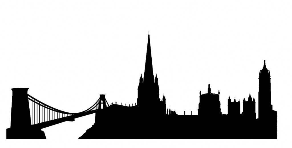 Силуэты городов Англии - Бристол