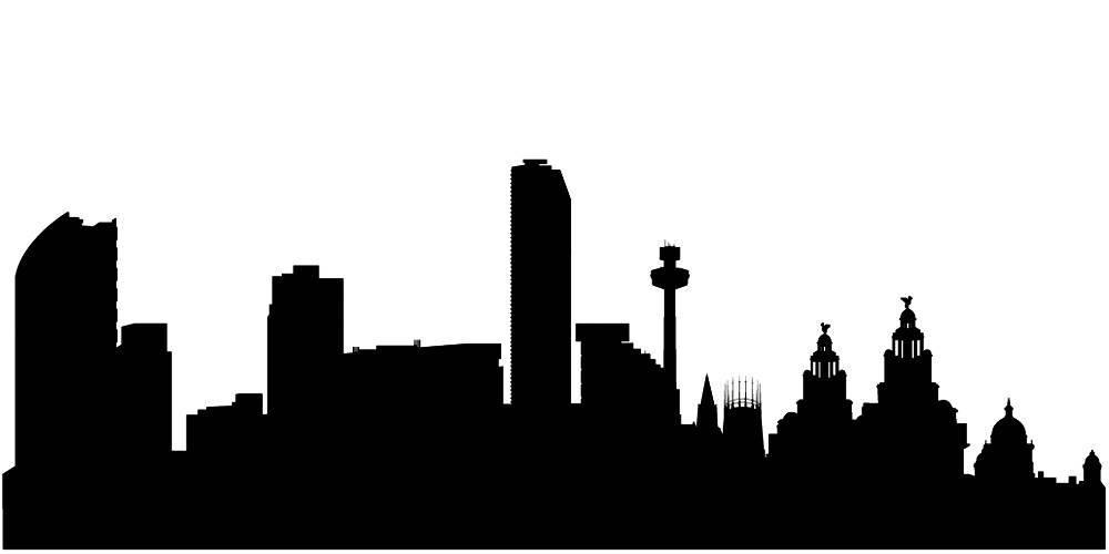 Силуэты городов Англии - Ливерпуль