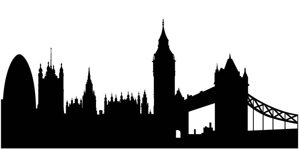 Силуэты городов Англии - Лондон