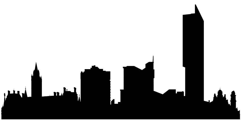 Силуэты городов Англии - Манчестер