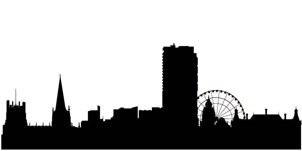Силуэты городов Англии - Шеффилд