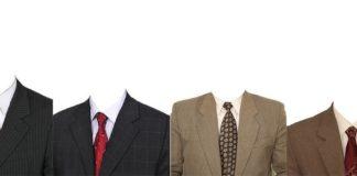 PSD шаблоны мужских костюмов для фото на документы