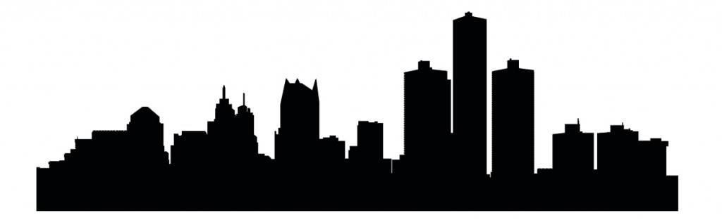 Силуэты городов Америки - Детроит