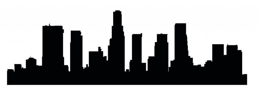 Силуэты городов Америки - Лос Анджелес