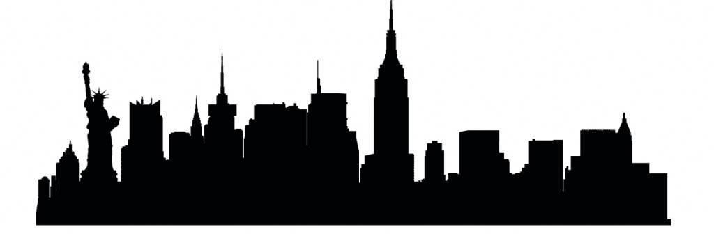 Силуэты городов Америки - Нью йорк