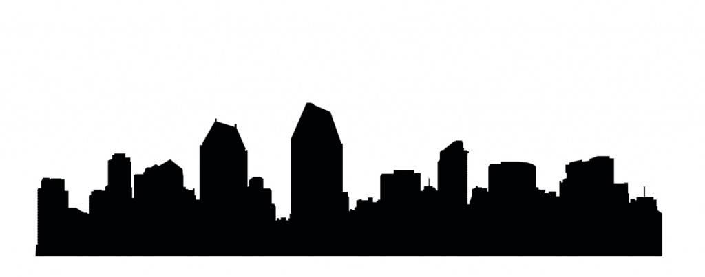 Силуэты городов Америки - Сан Диего