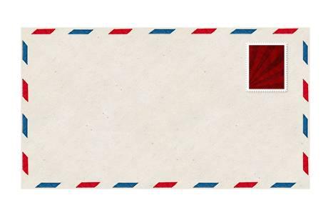 Шаблон почтового конверта - PSD исходник