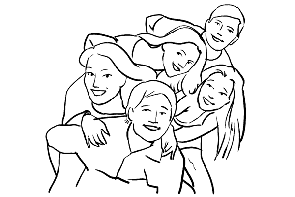 инструкция по групповому позированию 8