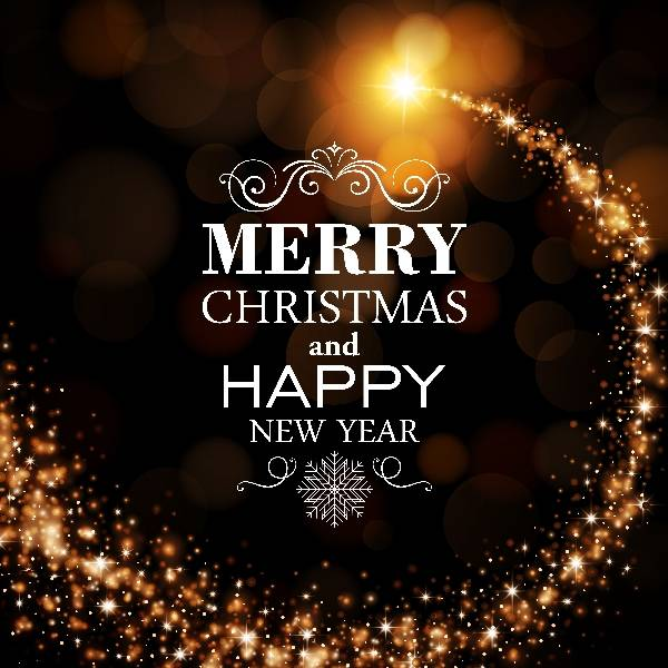 Новогодние фоны из бенгальских огней и рождественских огнив