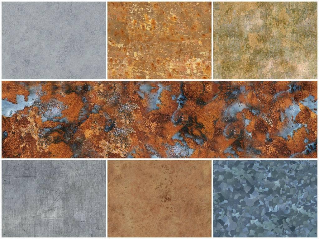 Текстуры метала - с торрента