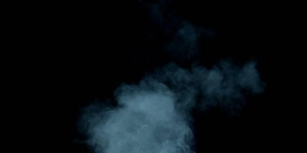 Текстура синего дыма - растровый клипарт