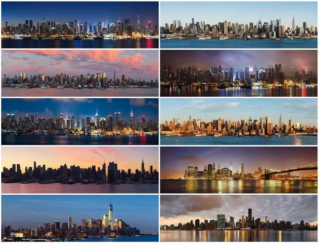 Фотографии на длинной выдержке ночного города