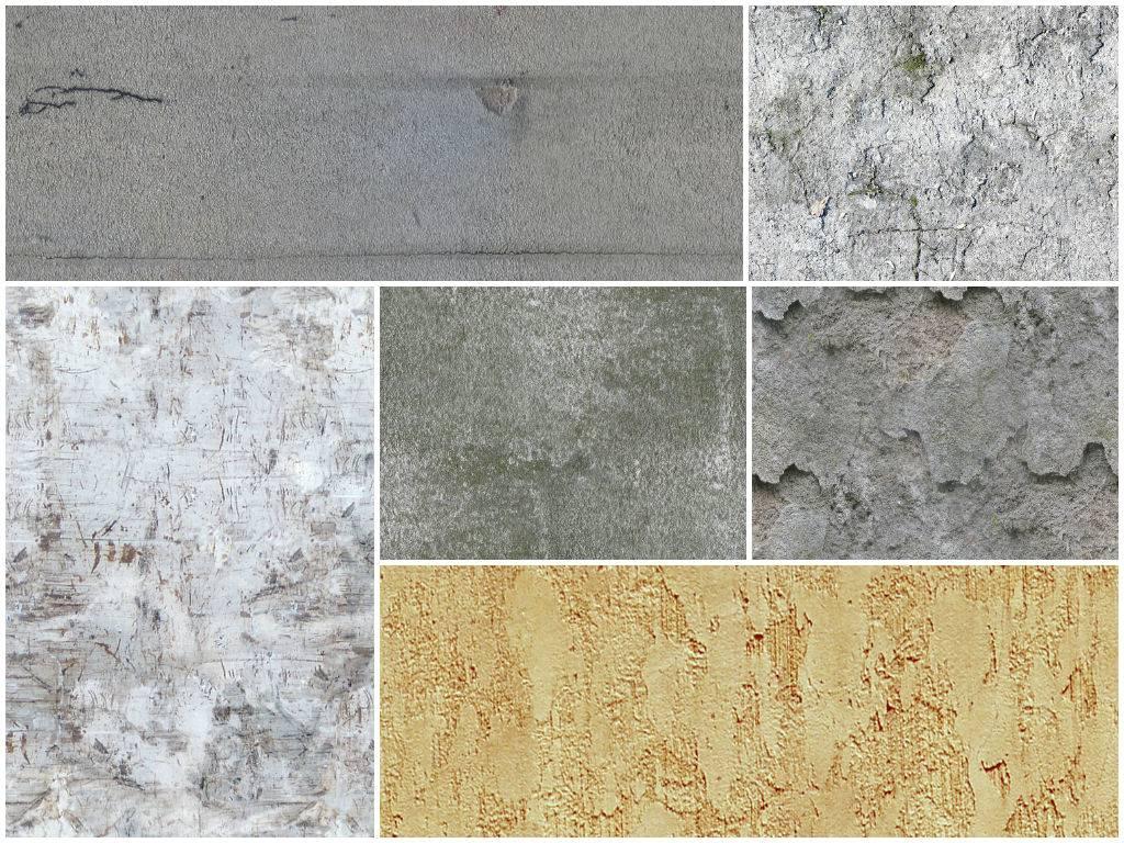 Текстуры бетона - фоны для фотошопа