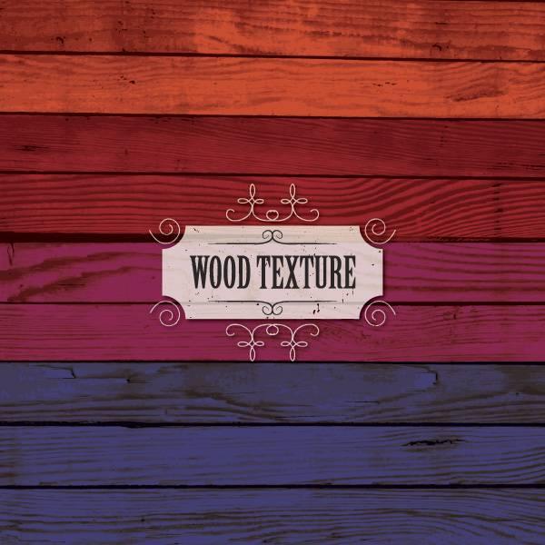 Цветные текстуры дерева - набор текстур для фотошопа