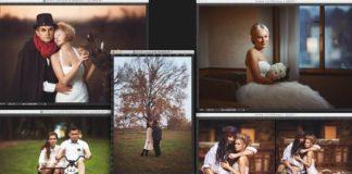 Ретушь свадебных и лавстори фотографий