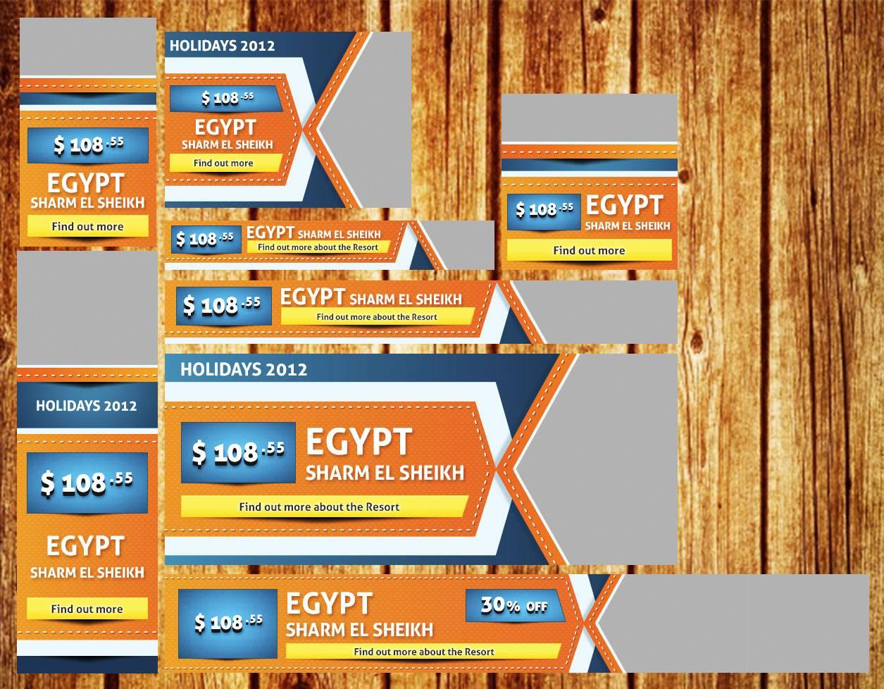 PSD Исходники баннеров туристической фирмы все размеры Баннер для Сайта Размер