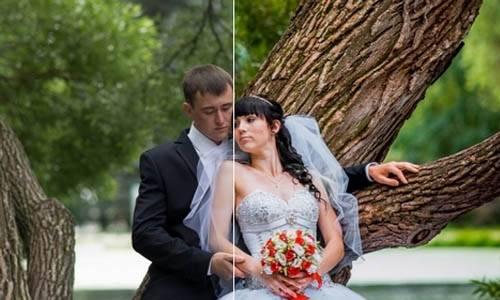 Летний свадебный пресет для lightroom допосле