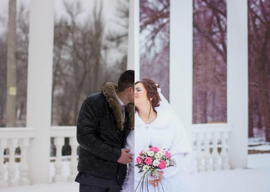 Свадебный зимниий пресет