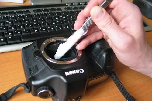 Как почистить матрицу фотоаппарата самому
