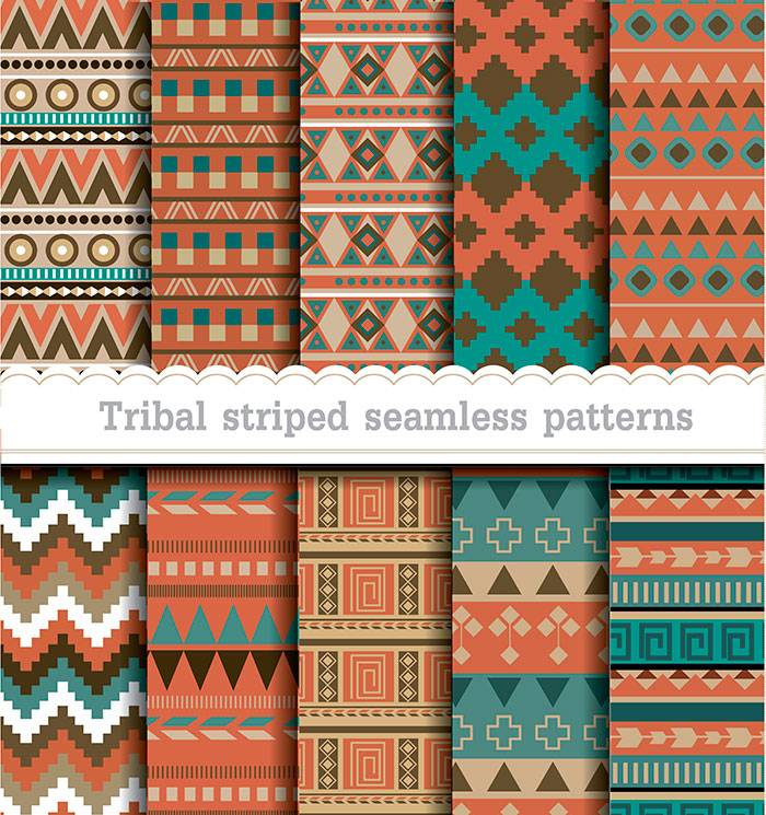 Tribal-striped-seamless-patterns-2