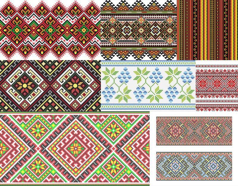Украинские орнаменты