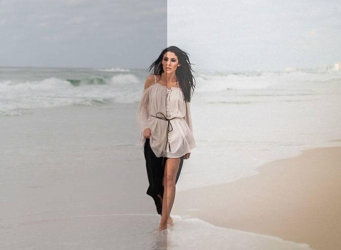 Светлый пляжный пресет для Lightroom - Bright beach preset for Lightroom