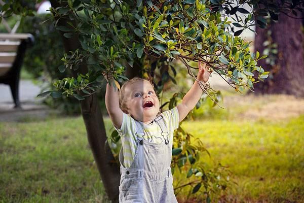 Детский пресет для портретной фотографии на природе