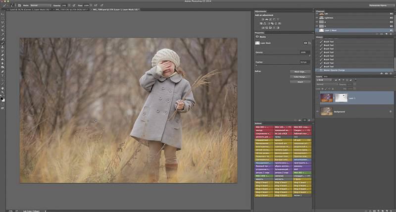 Видео курс для фотографа - Коррекция в LAB(2часть) 2