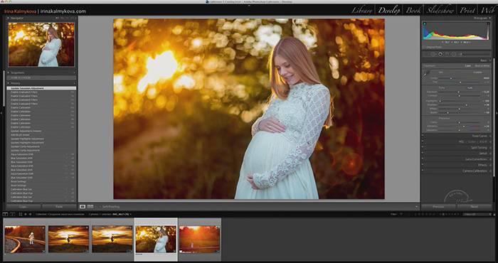 Видеоурок - обработка фотографии на закате в Lightroom 2