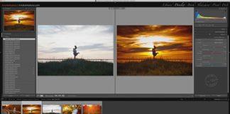 Видеоурок - обработка фотографии на закате в Lightroom