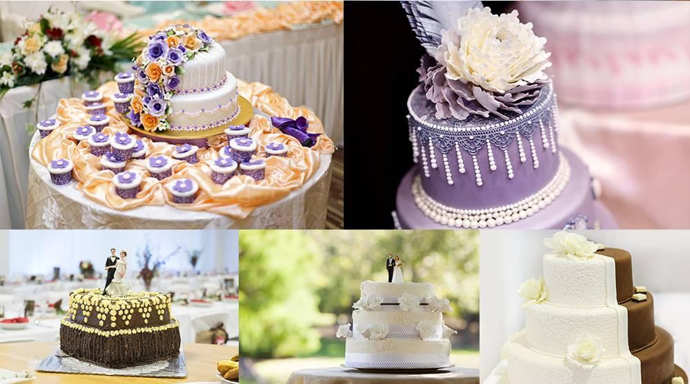 Растровый клипарт - подборка свадебных тортов 2