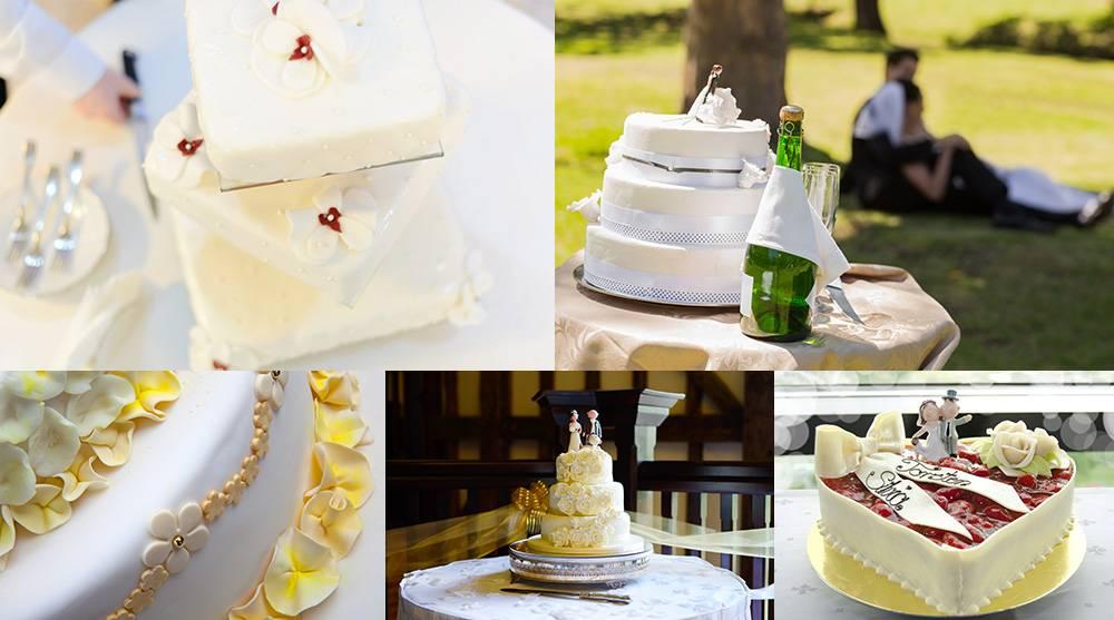 Растровый клипарт - подборка свадебных тортов 3