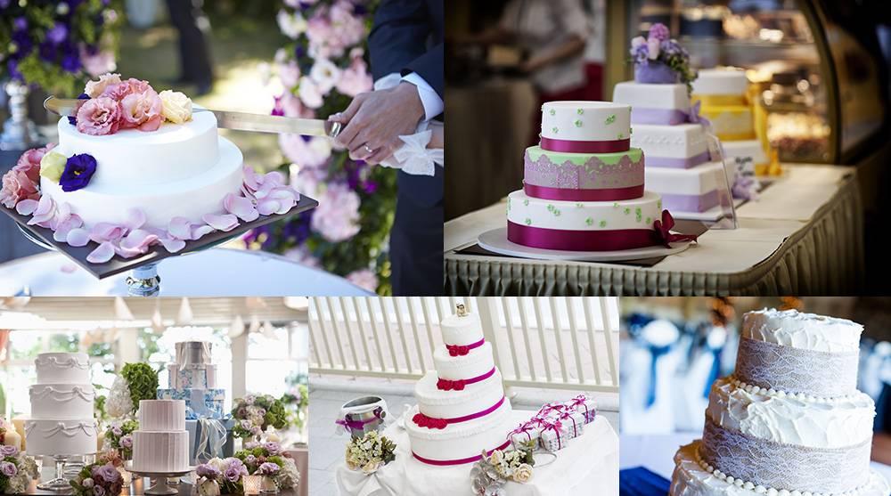 Растровый клипарт - подборка свадебных тортов 4