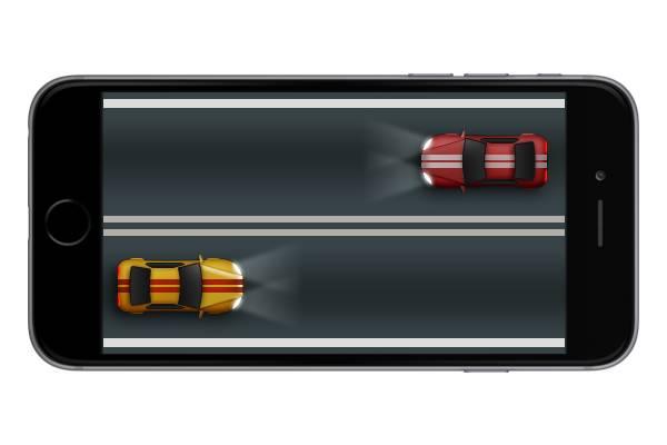 Рисуем гоночные машины в Adobe Photoshop результат 2