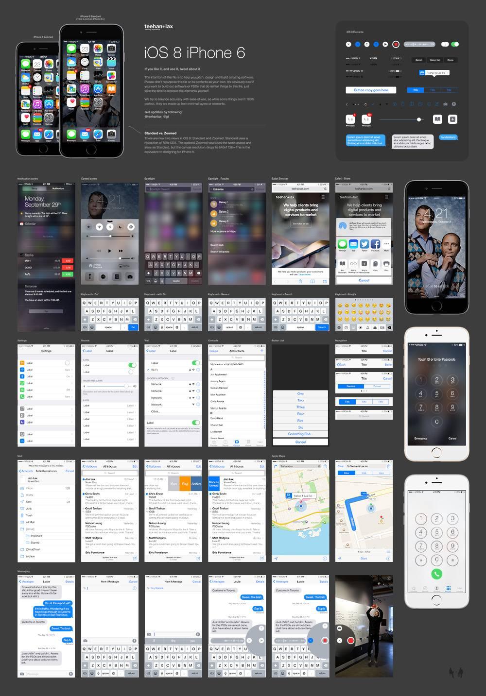 iOS 8 iPhone 6