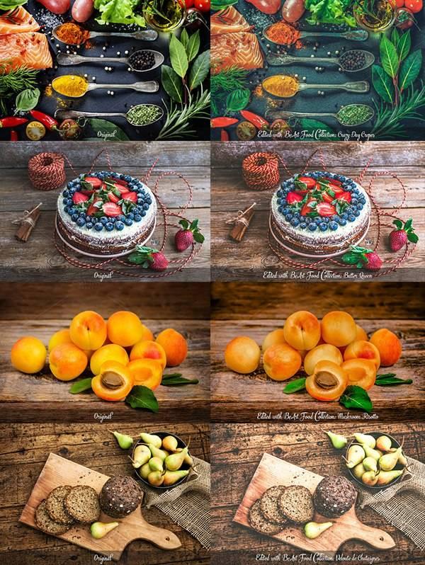 Обработка Фуд-фотографий - экшены для фотошопа