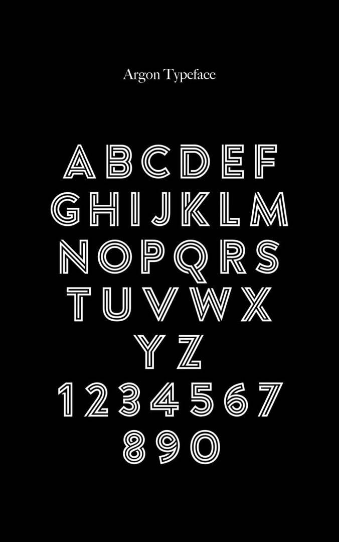 Download Argon Font 2