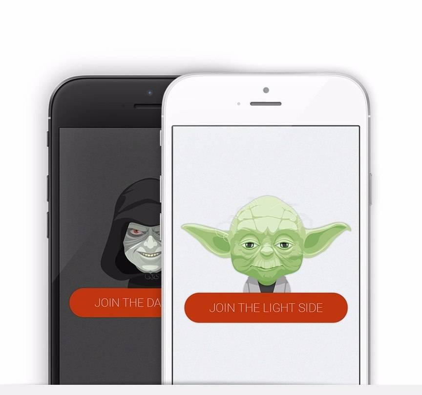 Set of Star Wars Avatars