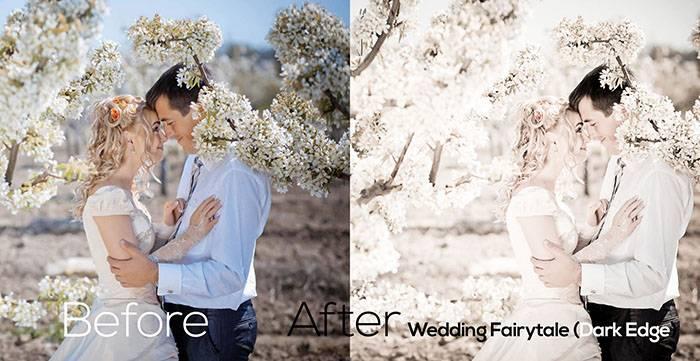 Пресеты для Lightroom Wedding Fairytale (Dark Edge)