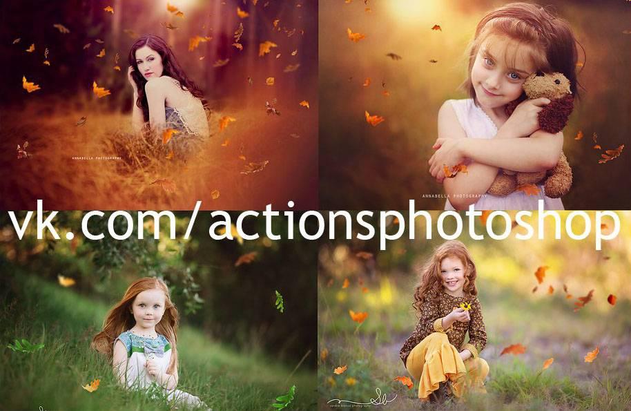 Текстуры для фотошопа - Листья
