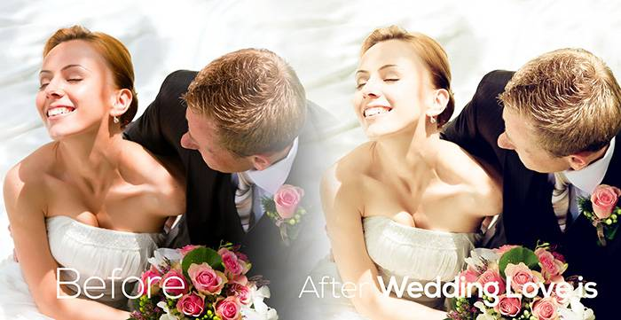 Пресеты для Lightroom Wedding_Love is