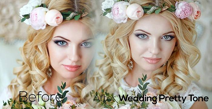 Пресеты для Lightroom Wedding_Pretty Tone
