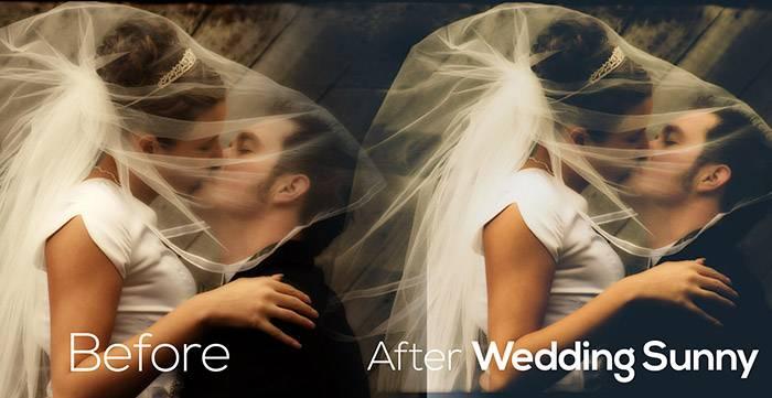 Свадебные Пресеты для Lightroom Wedding_Sunny