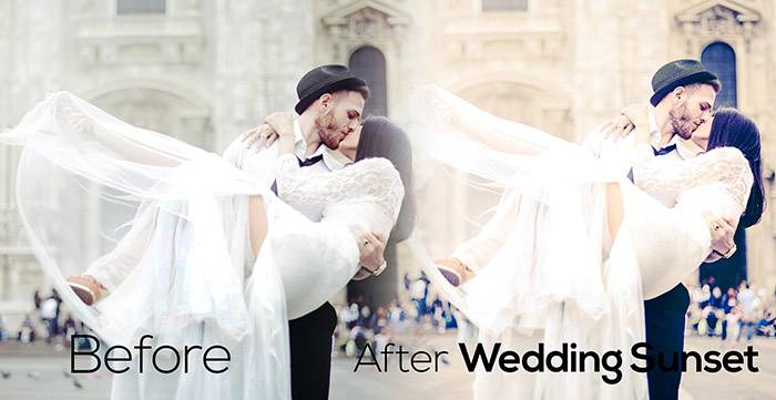 Свадебные Пресеты для Lightroom Wedding_Sunset