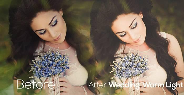 Свадебные Пресеты для Lightroom Wedding_Warm